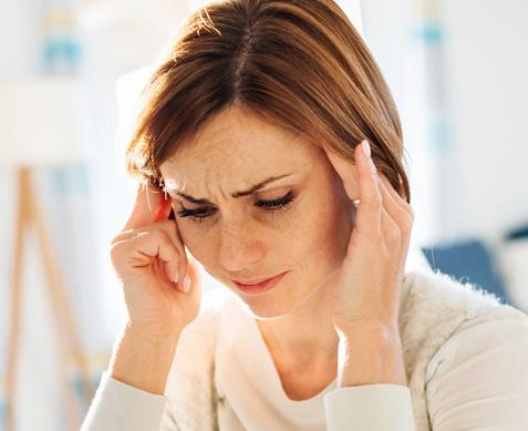 problemy ze snem a bóle głowy